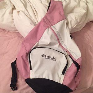 Columbia One Shoulder Cross Backpack Book Bag